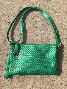 AA CHICAGO Fabric Big Cross body Bag Clutch Bag FREE SHIPPING