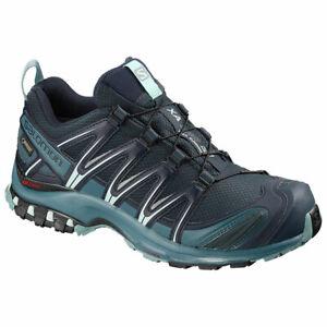 Details about Trail Running Shoes Approch Woman salomon Xa pro 3D GTX W Navy Blazer