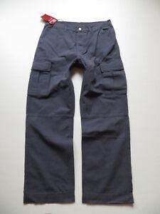 Levis-632-Cargo-Pant-Jeans-Hose-Gr-L-W-34-L-32-petrol-NEU-weit-amp-bequem