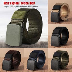 Casual Tactical Waistband Nylon Waist Belt Military Web Belt for Fat Man