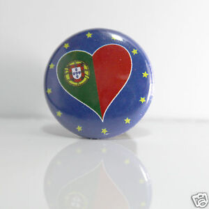 Doux 2 Badges Europe [25mm] Pin Back Button Portugal Soulager Le Rhumatisme