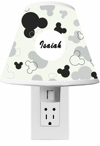 Mickey Mouse Clubhouse Night light Room Decor CUSTOM NAME