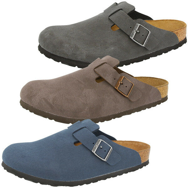 Birkenstock Boston Schuhe Birko-Flor Nubuk Clogs Schuhe Boston Pantoletten Sandalen Hausschuhe b615b4