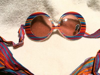 """RARE """"FASHION  SHOW""""  ROUND SHAPE SUNGLASS  LIMITED EDITION  NEW & NEVER SOLD"""