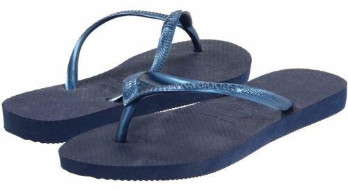 Havaianas Tongs Slim New Summer Beach Bleu Femme rqWHUrwpxE