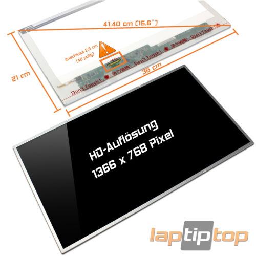 "Medion Akoya p6627//md97721 15,6/"" display a LED SCREEN Glossy"