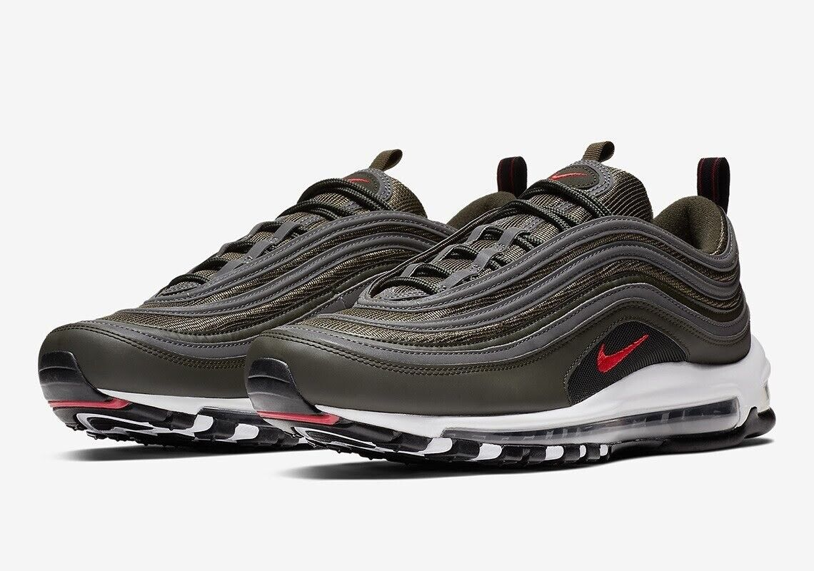 NIKE Air Max 97 sequoiauniversity red dark grey Sneaker