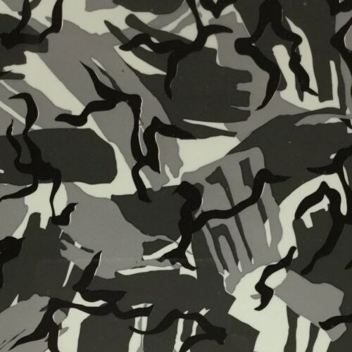 BRITISH CAMOUFLAGE CAMO HYDROGRAPHIC WATER TRANSFER HYDRO FILM DIP APE