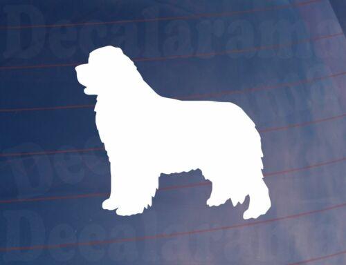NEWFOUNDLAND DOG SILHOUETTE Novelty Car//Van//Window//Bumper//Home//House Sticker