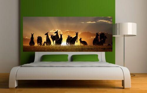 Wallpaper Headboard Kangaroo 3657 Art Deco Stickers