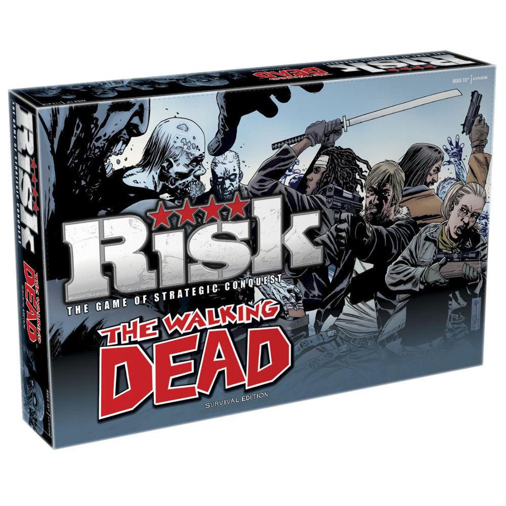 Risk Walking Dead Edition Board Game