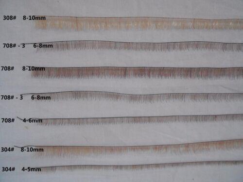 Stripe length 20cm Humanhair Eyelash Stripes