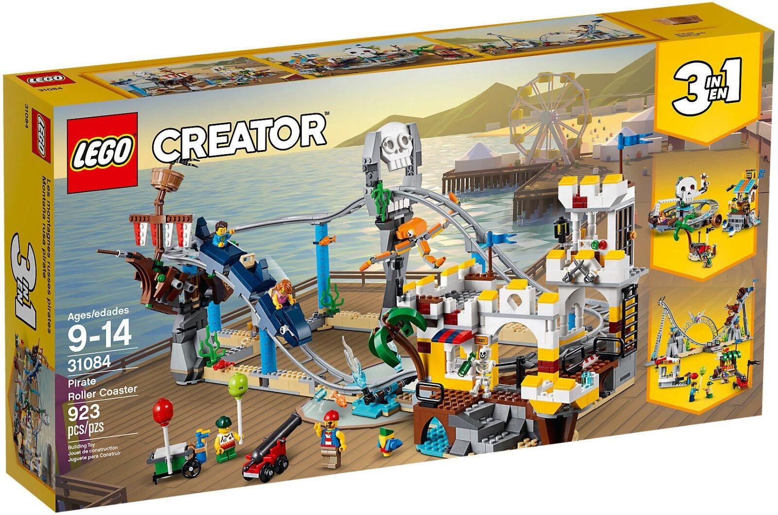 LEGO 3 in 1 1 1 Creator 31084 - Montagne Russe Dei Pirati NUOVO 30eca7