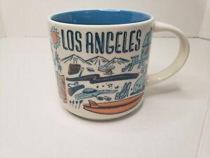 "Starbucks Los Angeles ""Been There Series"" Ceramic Coffee/Tea Mug 2018 14 oz."