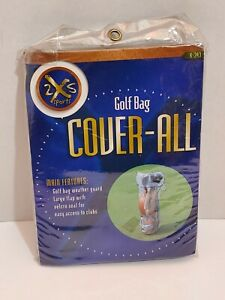 Golf Bag Clubs Cover Clear See Through Ran Protection Weather Guard 2S Sports