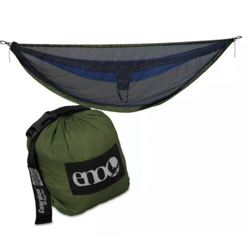 Neuf avec étiquettes eno Guardian SL Bug net Olive Hamac Insecte Filet Eagles Nest Outfitters