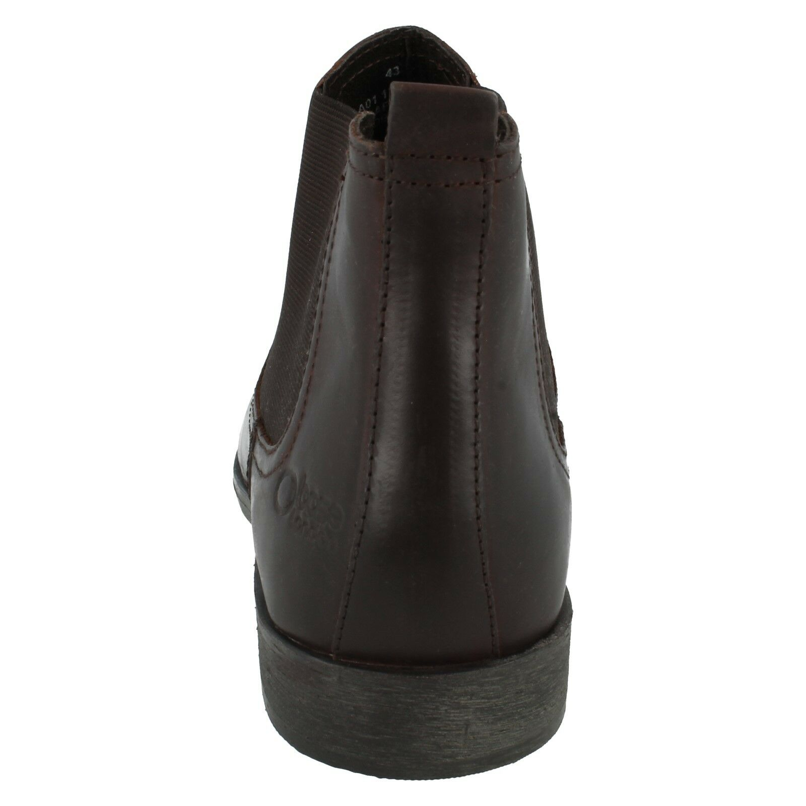 Herren Base London safran Chelsea Smart Slipper Leder elastisch Chelsea safran Stiefel 3d6b10