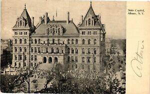 Vintage Postcard - 1907 NY State Capital Building Albany New York NY #3766