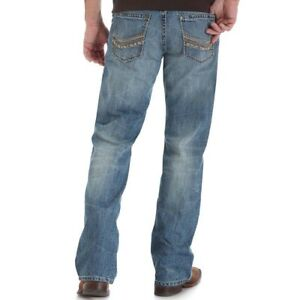 WRANGLER-ROCK-47-Men-039-s-Light-Wash-Low-Rise-Relaxed-Fit-Boot-Cut-Jean-MRR47TP-NWT