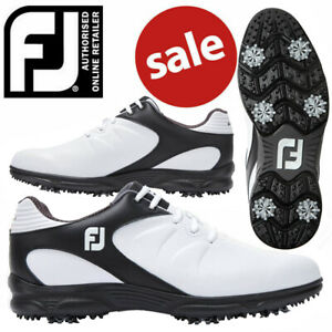 FootJoy-ARC-XT-Men-039-s-Golf-Shoes-White-Black-NEW-2019-REDUCED
