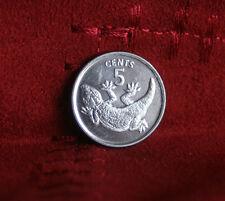 1979 Kiribati 5 Cents Unc World Coin KM3 Tokai lizard Animal Low Mintage 20,000