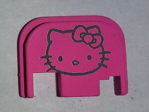 hot pink for glock back plate hello kitty 71922 all