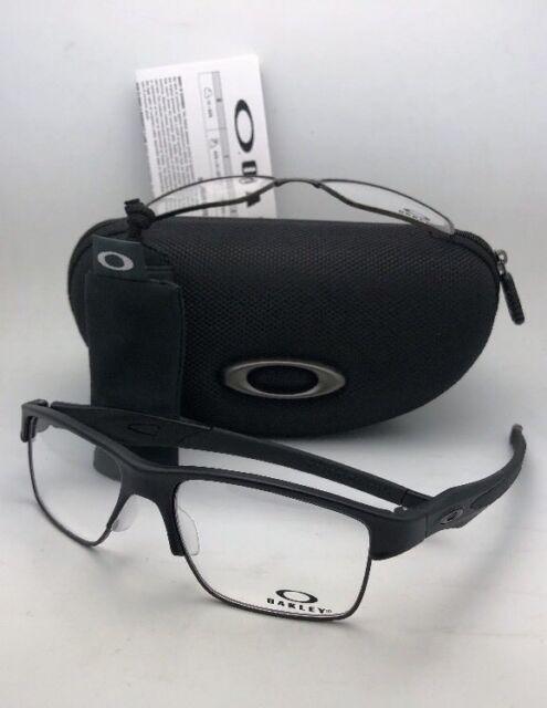 240e622817 OAKLEY Eyeglasses CROSSLINK SWITCH OX3128-0155 Satin Black w changeable  Fronts