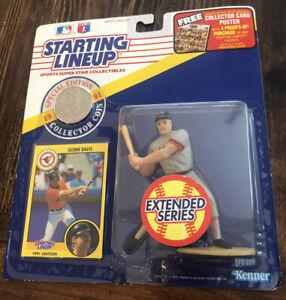 1991 STARTING LINEUP SLU MLB GLENN DAVIS BALTIMORE ORIOLES EXTENDED NEW SEALED