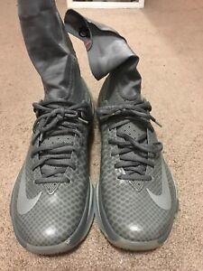 6e471414842c NEW Nike Kevin Durant KD 8 High Elite Tumble Grey 834185-001 Size ...