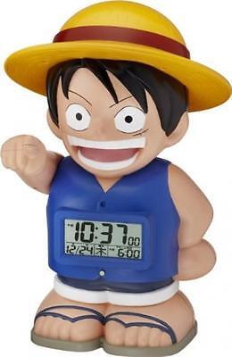 ONE PIECE Luffy featured character alarm clock straw 8RDA50RH04 Japan