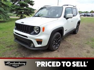 2020 Jeep Renegade ALTITUDE              TOUCHSCREEN STEREO W/BLUETOOTH  PARKVIEW BACK-UP CAMERA  APPLE CARPLAY AND AND