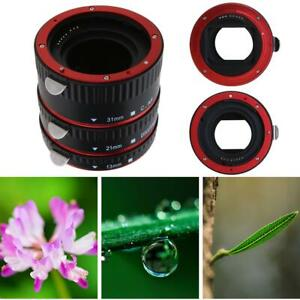 Auto-Focus-AF-Macro-Extension-Tube-Set-Ring-Mount-Bayonet-for-CANON-EF-S-Lens