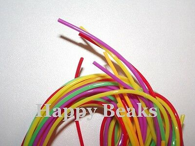 Bird Toy, Plastic Cord Multi Colours - Happy Beaks