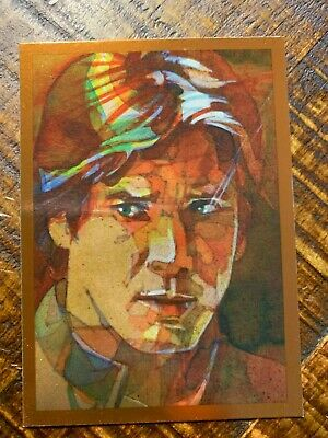 Star Wars Galaxy 7 Bronze Foil Chase Card #12 Han Solo