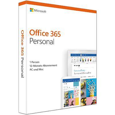Microsoft Office 365 Personal, deutsch
