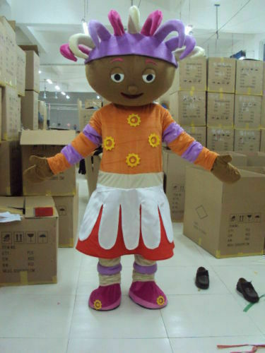 Upsy Daisy Cardinal Parade Costume Brand Adult Unisex Mascot Cosplay Dress Party