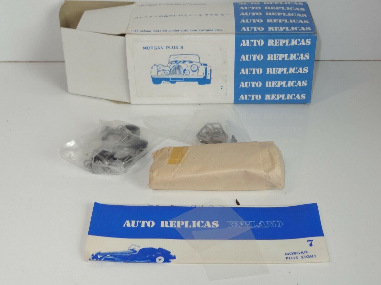 Auto replicas Métal Blanc Kit Morgan Plus 8 - 7 (209)