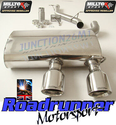 Milltek Exhaust Golf R32 MK5 Cat Back Stainless Non Res LOUDER SSXVW133 In stock
