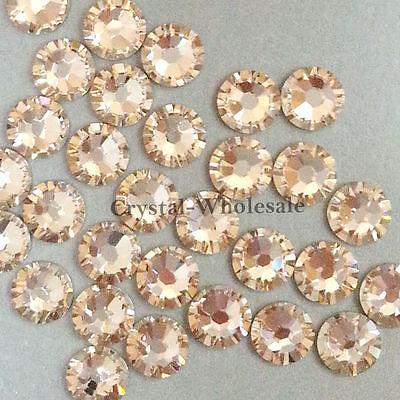 Light Silk (261) Swarovski 2058 7ss Crystal Flatbacks Rhinestones 2.2mm ss7