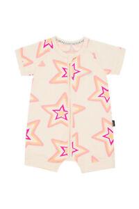 3e08ba111a Details about Bonds Baby Short Sleeve Zip Wondersuit Romper size 0000 000  00 0 1 2 3 Star Base