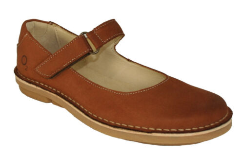 Oxygen Stitch Down Mary Jane Shoe Sintra Tan Sizes 36 to 38 RRP £65.00