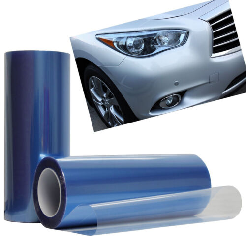 Car Auto Sticker Smoke Fog Light HeadLight Taillight Tint Vinyl Film Decal Sheet