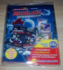 Beyblade Sammelmappe +72 Tüten über 580 Trading Cards Sammelkarten deutsch