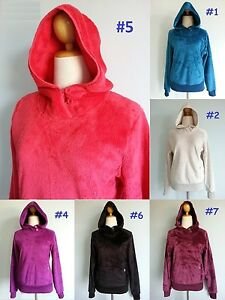 NEW-The-North-Face-Mossbud-Hoodie-Jacket-Soft-Soft-Fleece-Top-Women-XS-S-M-L-XL