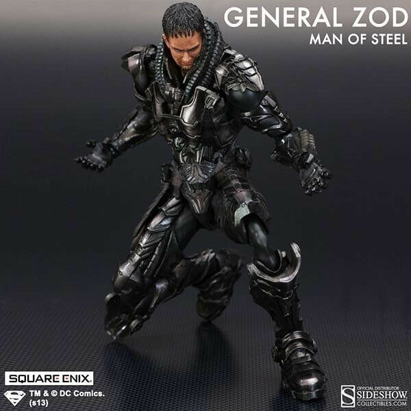 Authentic General Zod Man Of Steel DC Movie Enix Play Art Kai Action Figure Sup