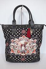 Neu Leontine Hagoort Handtasche Tasche Bag Shopper Parade black 11-13 UVP 168€