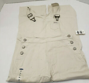 New Old Navy Ninas Adolescentes Junior Pantalones De Color Caqui Mono Azul Jeans Talla 10 Nuevo Con Etiquetas Ebay