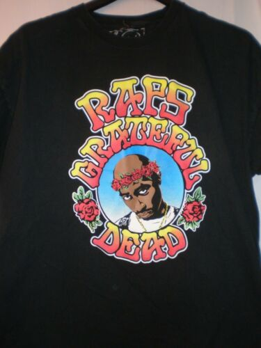 Tupac Rap T SHIRT Grateful Dead XXLARGE