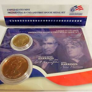 2009 P D William Harrison Presidential Dollars From Mint Set Combined Shipping