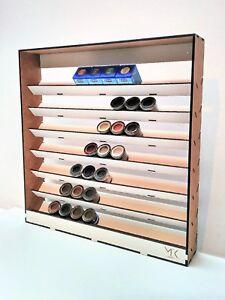 Mk-Hobby-FDH-botellas-de-pintura-Rack-Organizador-Para-84-X-14ml-Humbrol-Revell-W84